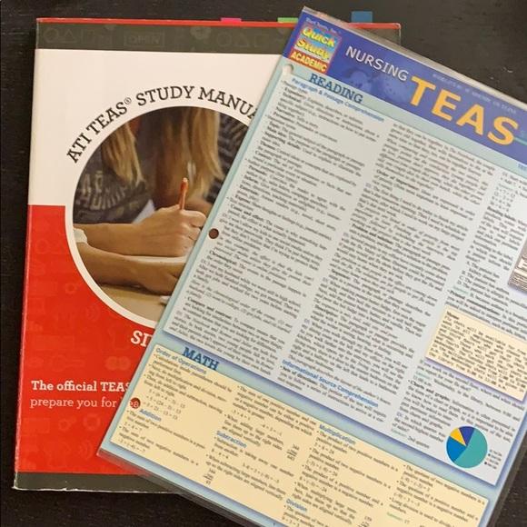ATI TEAS Study Manual Book+Study Guide